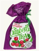 Cranberry Tea In Cloth Bag (10 Tea Bags)