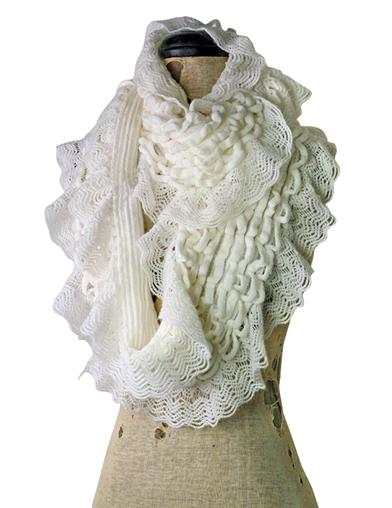 Fairest Of Them All Lace Infinity Scarf