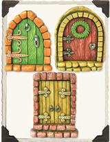 English Fairy Doors (Set Of 3)