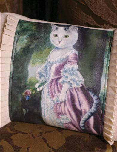 Duchess Furrgie Cushion (Feather Down)