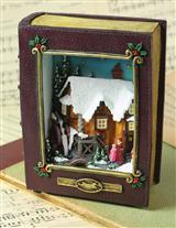Storybook Cottage Diorama Musicbox