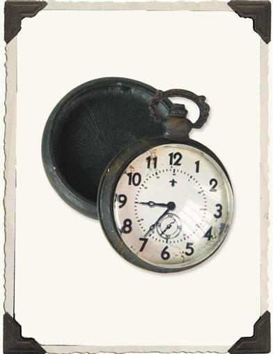 Pocketwatch Trinket Box