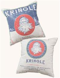 Kringle Coal Co. Pillow