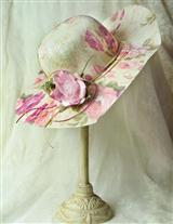 Garden Party Hat & Hatbox