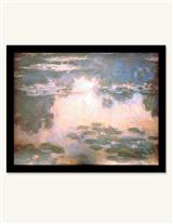 Monet Pink Waterlilies Nightlight