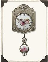From France Limoges Pendulum Clock