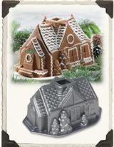 Gingerbread House Cake Mold