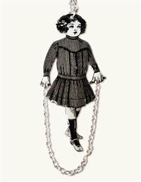 Janey Jump Rope Necklace