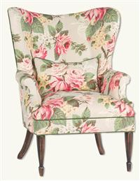 Enchanted Cottage Wingback Chair