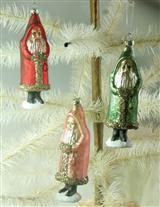 Pearled Belsnickle Ornaments (Set Of 3)