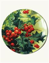 Hollyberry Dessert Plates (Set Of 4)