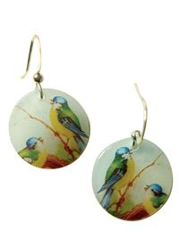 Bluebirds' Serenade Earrings