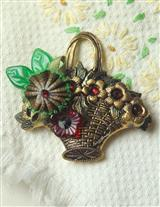 Picked Posies Brooch