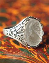 Lalique Cameo Ring