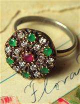 Cathedral Window Ring