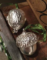 Walnut & Acorn Wishkeeper Ornament Set