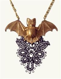 Prissy Bat Necklace