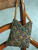 Cathedral Window Purse