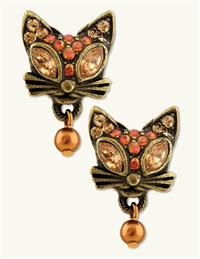 Glamour Kitty Earrings