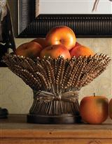 Bronze Bread Basket