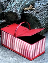 Red & White Little Red Riding Hood Basket