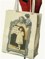 Glitter Glamour Tote & Brooch