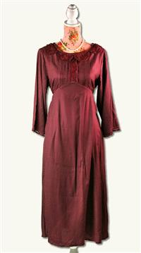 April Cornell Aubergine Dress