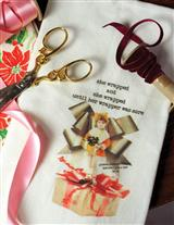 Giftwrapper's Lament Guest Towel