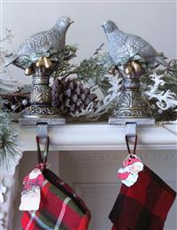 Partridge Stocking Holders (Pair)