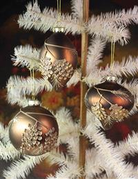 Grand Lodge Pinecone Ornaments (Set Of 3)