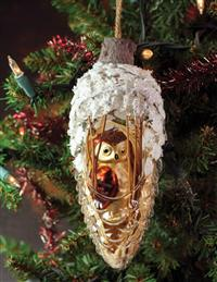 Wiseguy Owl Ornament