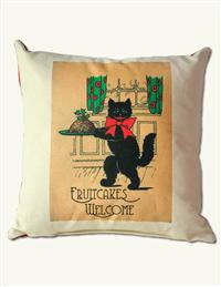 Fruitcakes Welcome Pillow