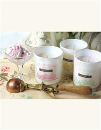 Ice Cream Parlour Candles Lemon Custard