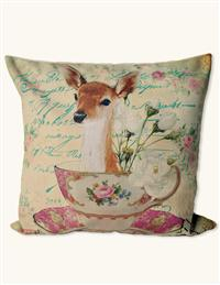Whimsical Wildlife Pillow (Deer Sham)
