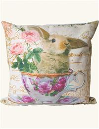 Whimsical Wildlife Pillow (Bunny Sham)