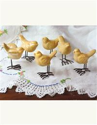 A Little Flock Of Birds (Set Of 6)