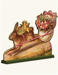 """""""Ride Into Springtime"""" Stand-up Display"""
