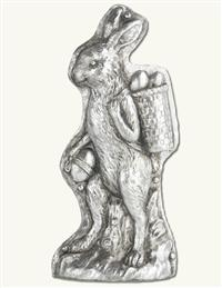 Decorative Bunny Candy Mold