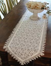 Alsace Lace Table Runner