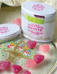 From France Sugared Heart Bonbons