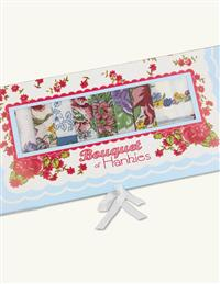 Bouquet Of Flower Hankies Set