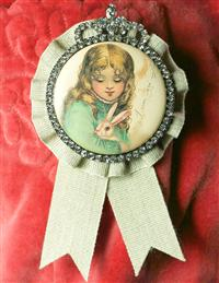 Girl With Bunny Ribbon