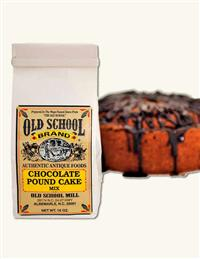 Old School Baking Mix Chocolate Pound Cake