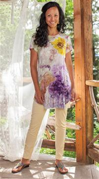 April Cornell Watercolour Tunic