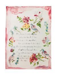 April's Homage To Mother- Keepsake Linen