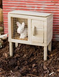 Bunny In Hutch