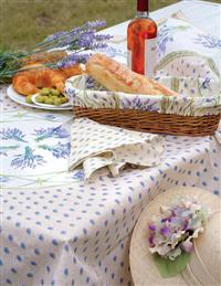 Provencal Lavender Tablecloth