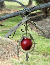 Auberge Apple Bird Feeder