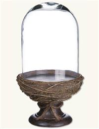 Gazing Dome On Nest Pedestal