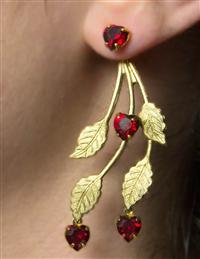 """Falling Hearts"" Earrings"